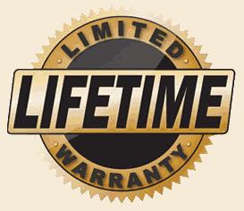Lifetime stucco warranty
