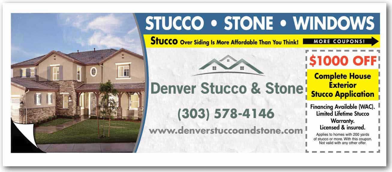 Stucco Specials Denver